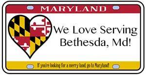 We love serving Bethesda, MD