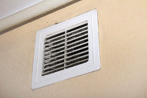 air filter installed by hvac contractors