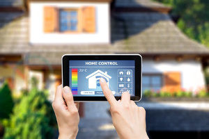 smart app with full home and thermostat control