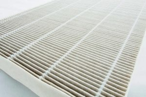 brand new HVAC air filter provided by Gaithersburg, MD HVAC contractors