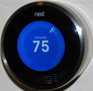 wifi connected thermostat