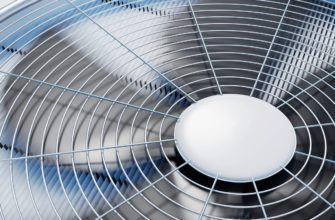 close up of an outdoor hvac system