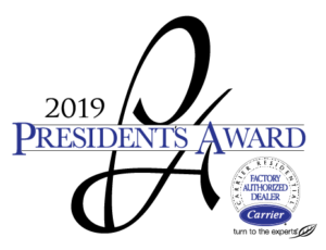 2019 President's Award, Carrier