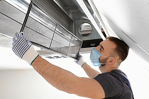 an HVAC contractor who is installing central air for a home