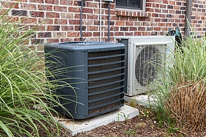 two different types of HVAC compressors