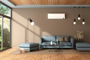 a house peaceful because of the benefits of using a ductless air conditioner