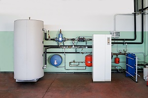geothermal heat pump to be installed inside a home that has many benefits