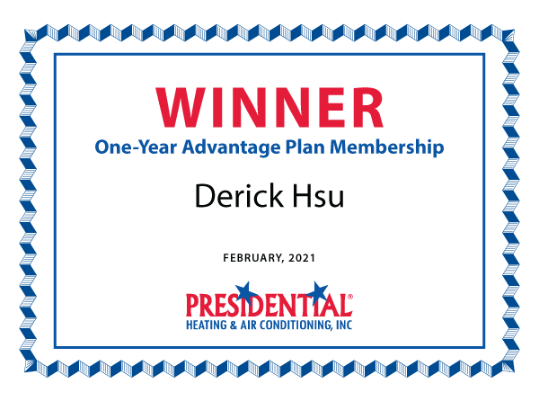 Winner Certificate 2021