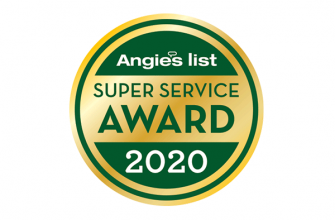 Angie's List Super Service Award - 2020