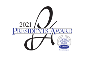Recipient of the 2021 Carrier President's Award