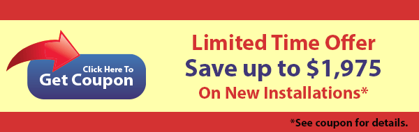 Save up to $1,975 On New Installations